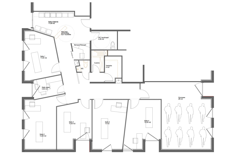 Panneau Salle De Bain Imitation Bois ~ Plan Wc Handicap Rangue Hoods Cad Blocks With Plan Wc Handicap